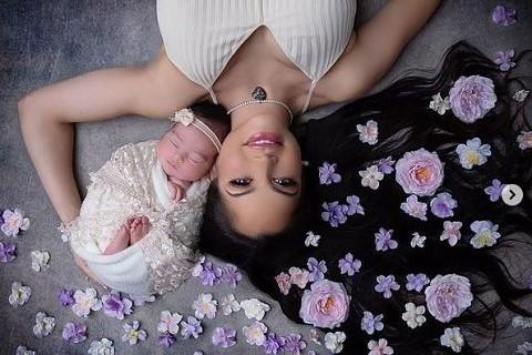 Natasha-muestra-la-primera-foto-de-su-bebe,-Isabelle