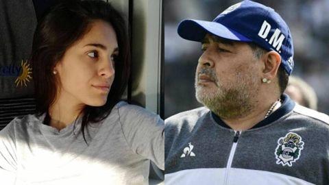 Se-revelo-el-resultado-del-ADN-de-Magali-Gil,-la-presunta-sexta-hija-de-Diego-Maradona