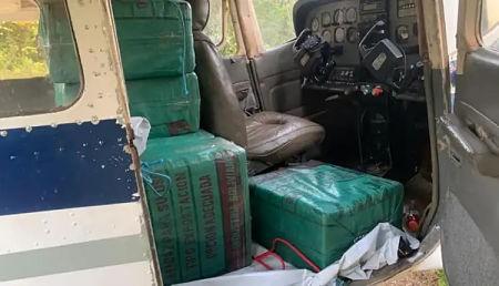 Policia-de-Brasil-intercepta-avion-que-transportaba-droga-procedente-de-Bolivia