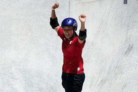 Japon-domina-en-el-debut-del-skate,-Yosozumi-le-da-su-tercer-oro